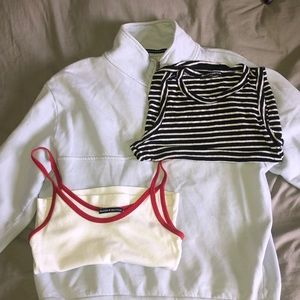 Brandy set (sweater, 2 tank tops)